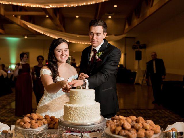 Brandon and Jordan's Wedding in Covington, Ohio 5