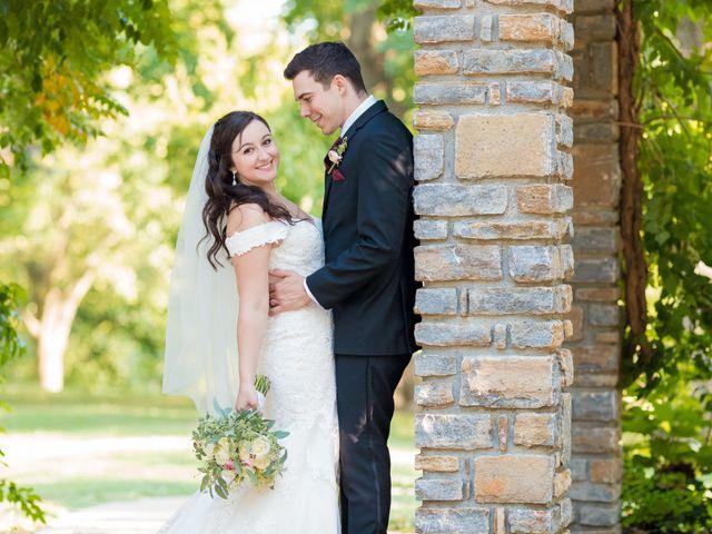 Brandon and Jordan's Wedding in Covington, Ohio 9