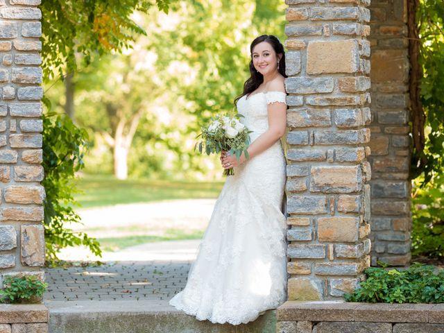 Brandon and Jordan's Wedding in Covington, Ohio 14