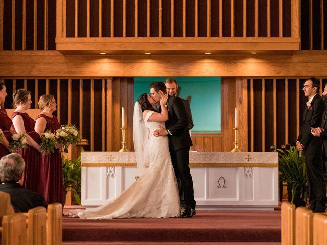 Brandon and Jordan's Wedding in Covington, Ohio 18
