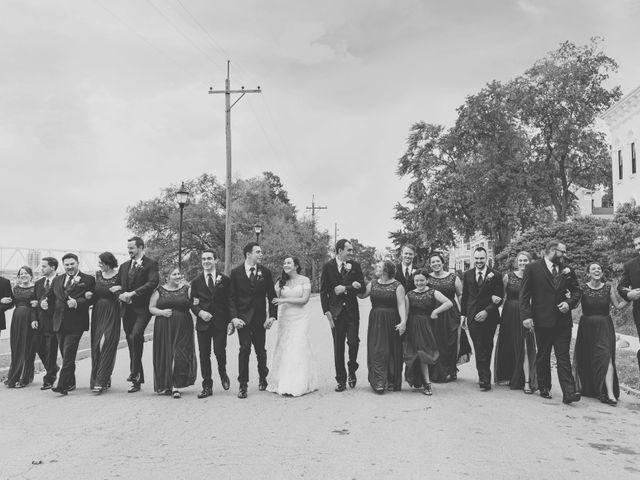 Brandon and Jordan's Wedding in Covington, Ohio 32