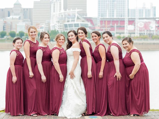 Brandon and Jordan's Wedding in Covington, Ohio 40