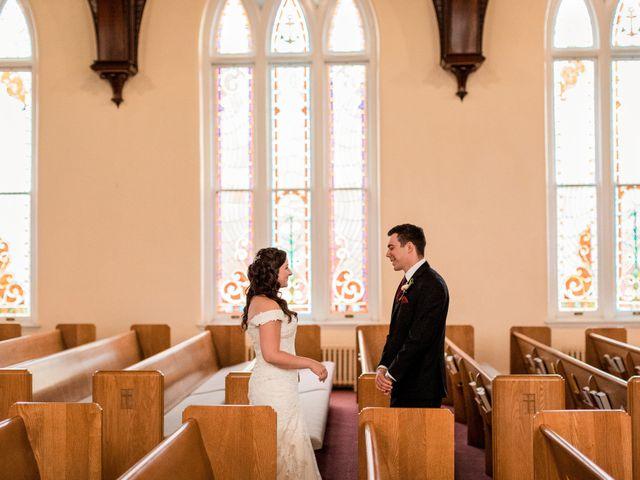 Brandon and Jordan's Wedding in Covington, Ohio 45