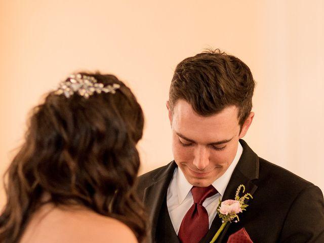 Brandon and Jordan's Wedding in Covington, Ohio 46