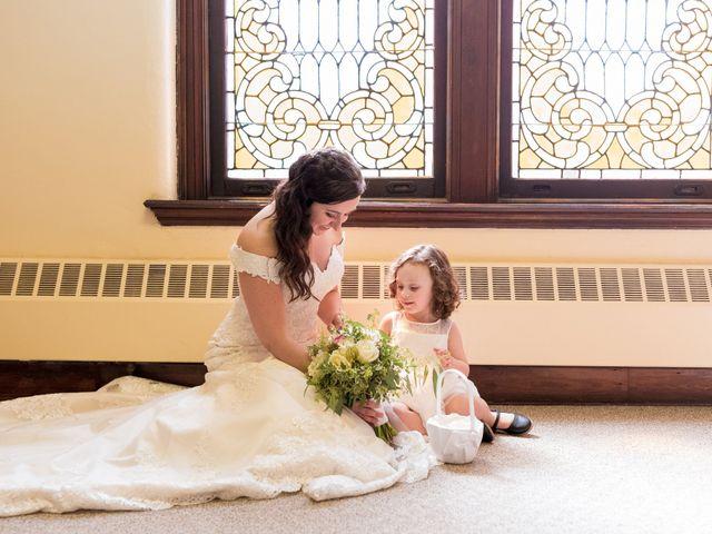 Brandon and Jordan's Wedding in Covington, Ohio 56