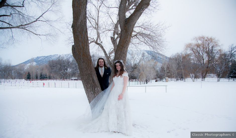Jay and Katura's Wedding in Silt, Colorado