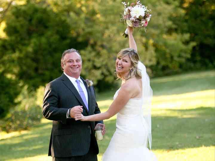 The wedding of Chuck and Jo Ellen