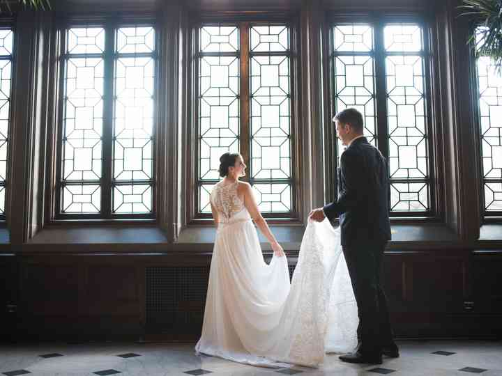 The wedding of Carlye and Nick