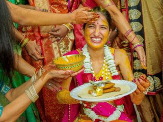 The wedding of Krishna and Dillon 2
