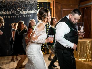 The wedding of Stephanie and Ricky 2