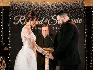 The wedding of Stephanie and Ricky 3