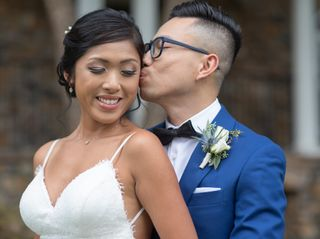 The wedding of Katherine and Vinh
