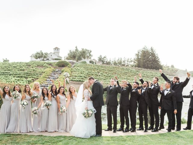 Trevor and Gabby's Wedding in Hollister, California 30