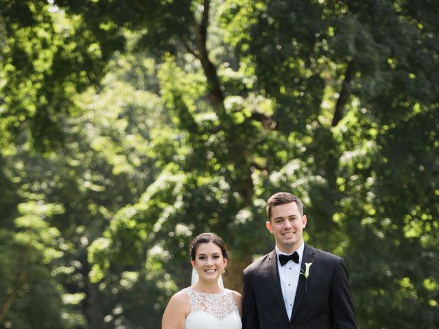 Nick and Carlye's Wedding in Indianapolis, Indiana 6
