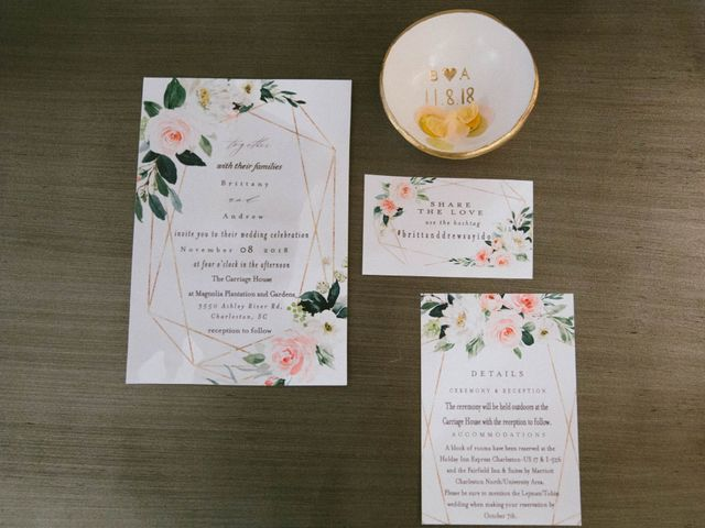 Andrew and Brittany's Wedding in Charleston, South Carolina 15