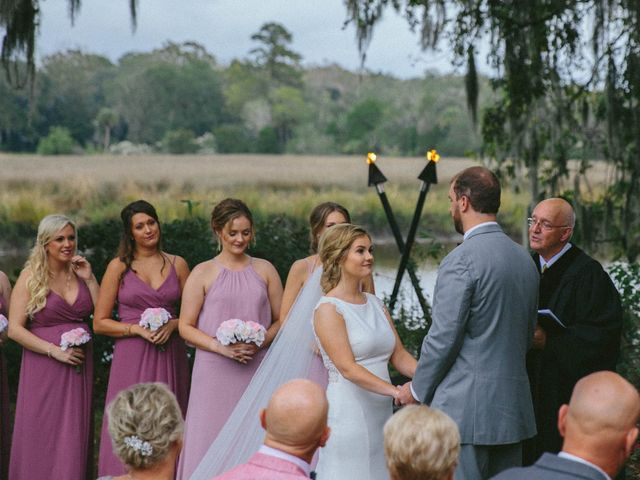Andrew and Brittany's Wedding in Charleston, South Carolina 50