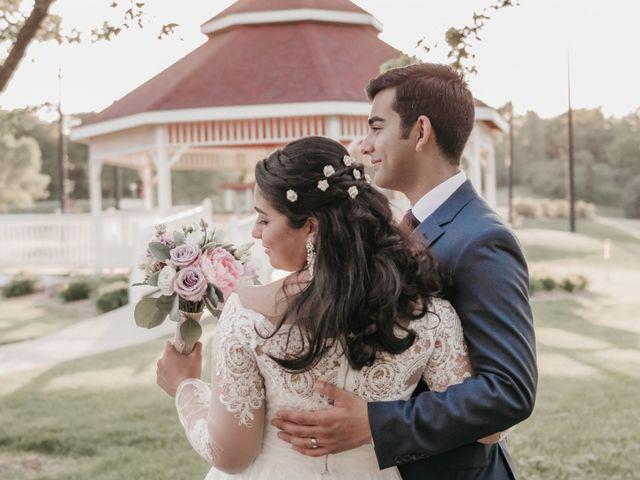The wedding of Lisette and Brandon