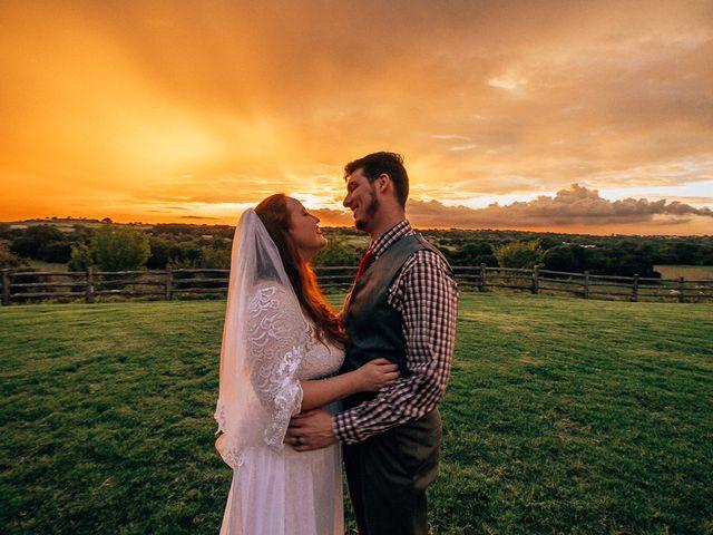 The wedding of Haley and Matt