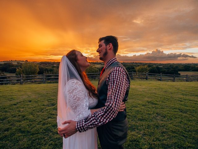 Matt and Haley's Wedding in Weatherford, Texas 1