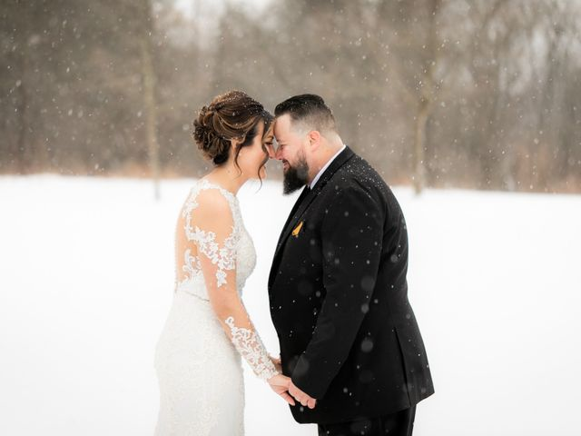 The wedding of Stephanie and Ricky