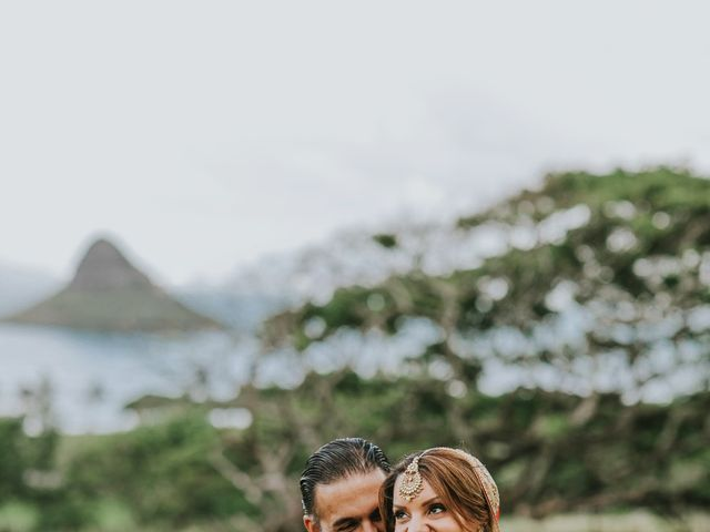 jessica and suketu's Wedding in Kaneohe, Hawaii 32