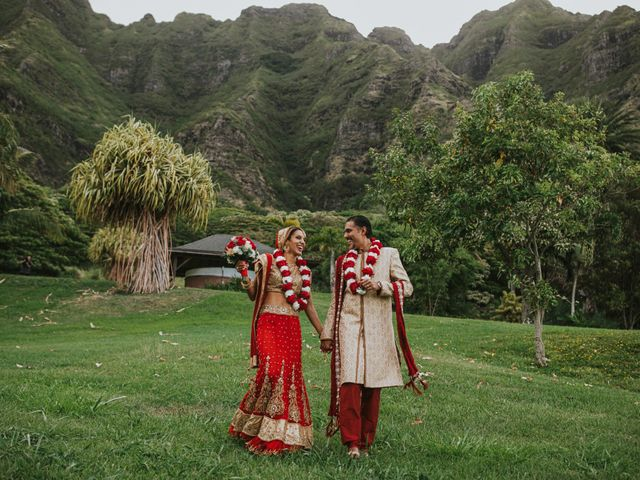 jessica and suketu's Wedding in Kaneohe, Hawaii 34