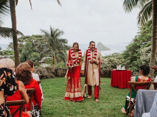 jessica and suketu's Wedding in Kaneohe, Hawaii 39