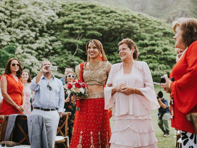 jessica and suketu's Wedding in Kaneohe, Hawaii 55