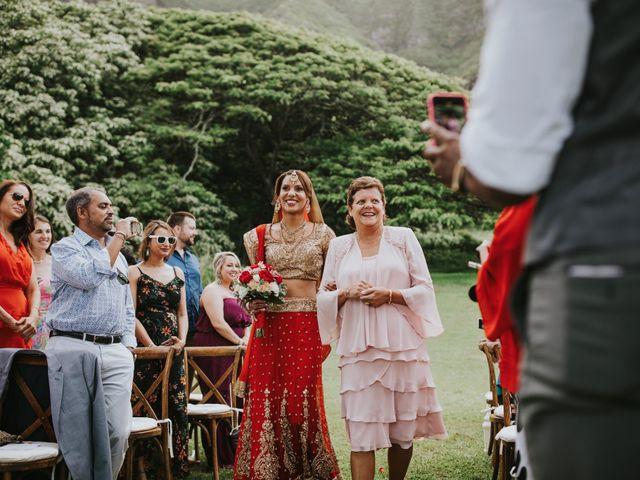 jessica and suketu's Wedding in Kaneohe, Hawaii 56
