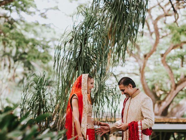 jessica and suketu's Wedding in Kaneohe, Hawaii 76