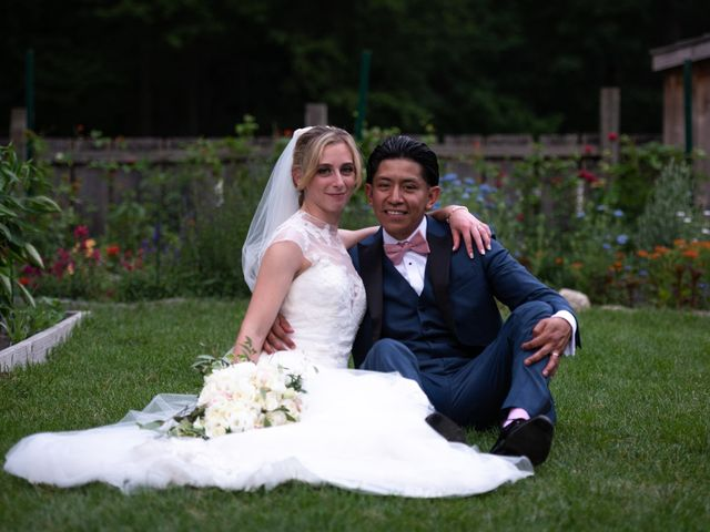 The wedding of Samantha and Gerry