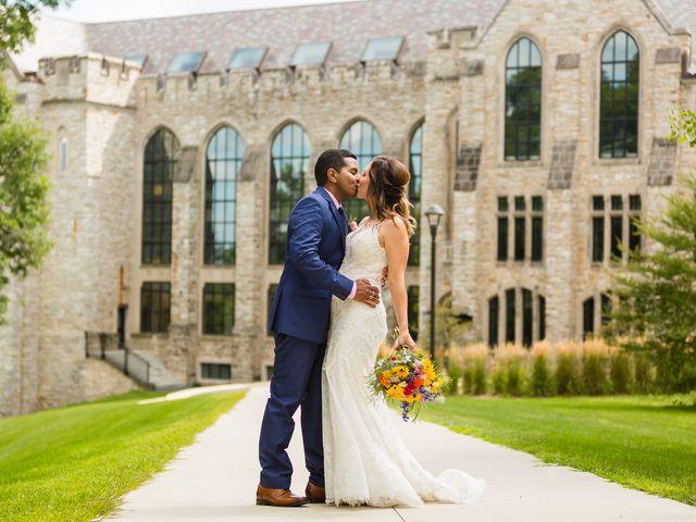 The wedding of Sarah and Abhishek