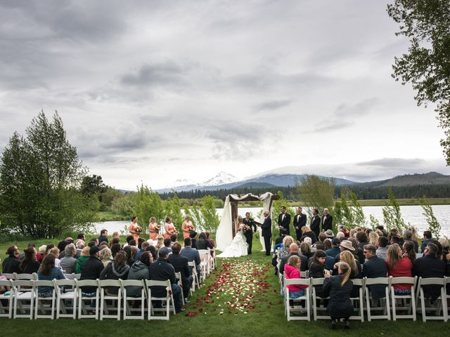 Mario and Sarah's Wedding in Sisters, Oregon 13