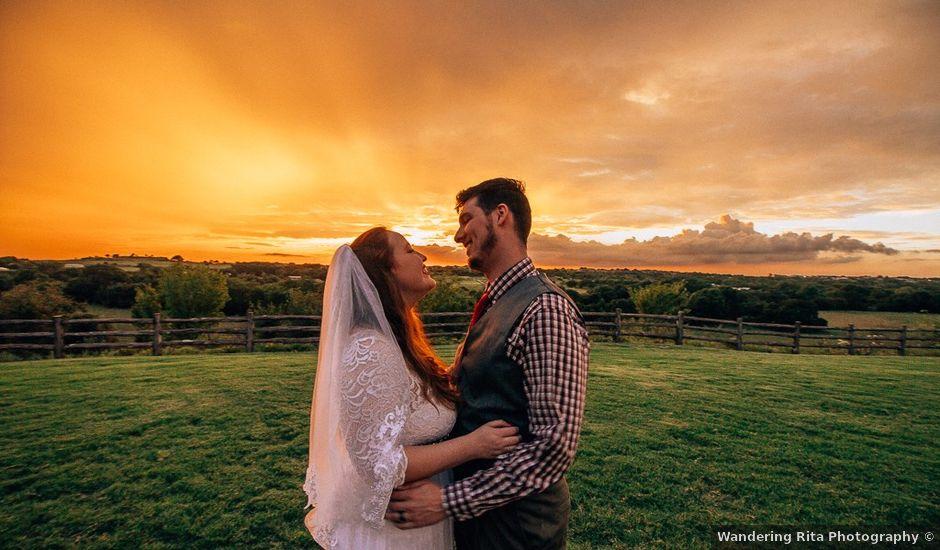 Matt and Haley's Wedding in Weatherford, Texas
