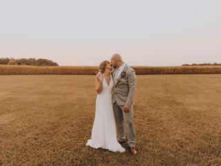 The wedding of Caitlyn and Brandon
