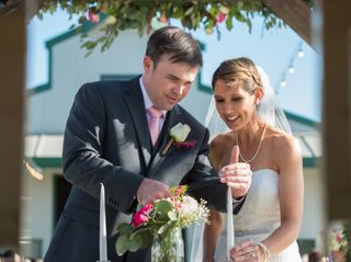 The wedding of Ricci and Weston