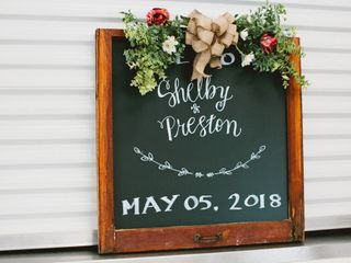 The wedding of Shelby and Preston 3