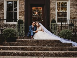 The wedding of Kyle and Elizabeth