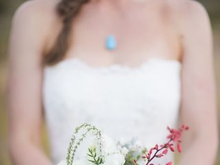 Michelle and Jeremy's Wedding in Ojo Caliente, New Mexico 5