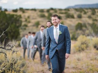 Michelle and Jeremy's Wedding in Ojo Caliente, New Mexico 14