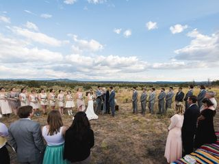 Michelle and Jeremy's Wedding in Ojo Caliente, New Mexico 18