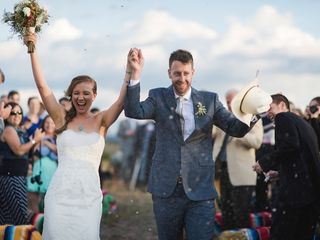 Michelle and Jeremy's Wedding in Ojo Caliente, New Mexico 20