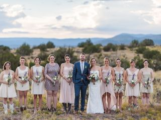 Michelle and Jeremy's Wedding in Ojo Caliente, New Mexico 21