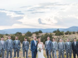 Michelle and Jeremy's Wedding in Ojo Caliente, New Mexico 22