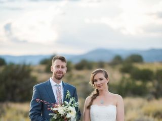 Michelle and Jeremy's Wedding in Ojo Caliente, New Mexico 23