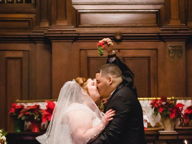 The wedding of Sarah and Jason