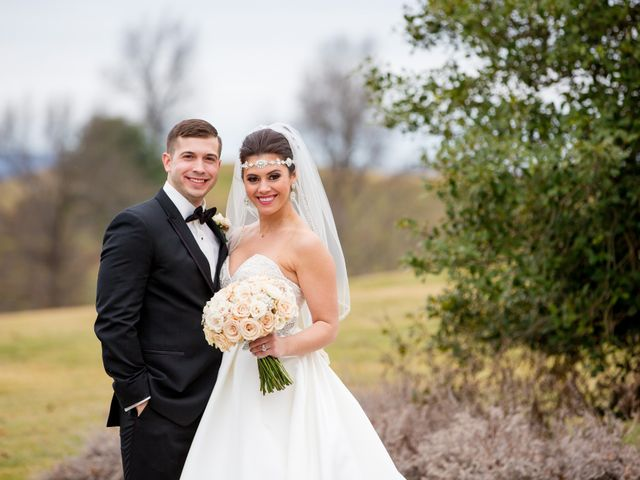 The wedding of Caroline and Jordan