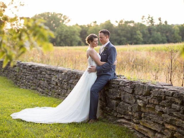 The wedding of Matt and Jenna