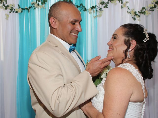 The wedding of Carmen and Brian Hoover