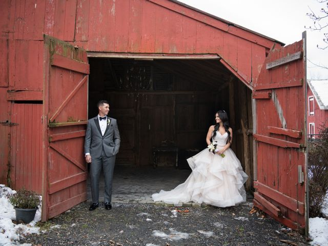 Nick and Gia's Wedding in Central Valley, New York 16